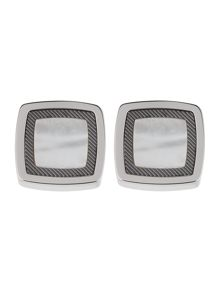 Martin mother of pearl square cufflinks