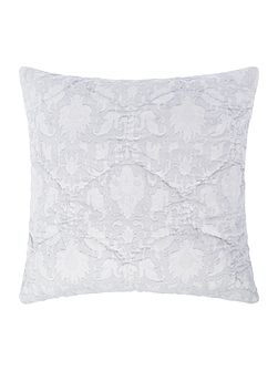 Duck egg cotton cushion
