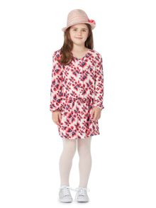 Little Dickins & Jones Girls Butterfly printed jersey dress