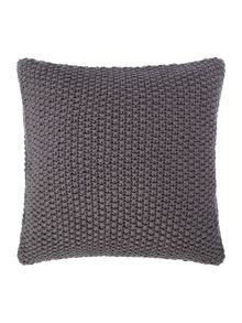 Gray & Willow Large gauge knit cushion