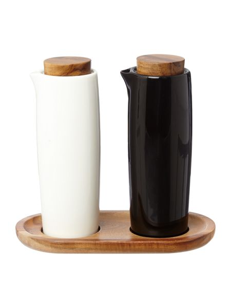 Linea Ceramic oil and vinegar set