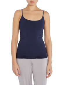 Long top in a soft a stretchy fabric
