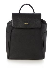 Chelsea black backpack