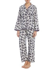 Cyberjammies White bird print pj set