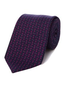 Howick Tailored Batavia Fish jacquard silk tie