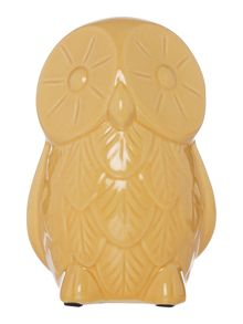 Dickins & Jones Orange Ceramic Owl