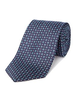 Howick Tailored Camas Geo mini square jacquard silk