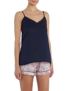 Cyberjammies Floral short and cami pj set