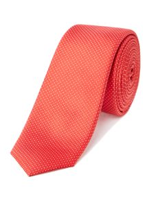 Jonas Mini dot jacquard silk tie