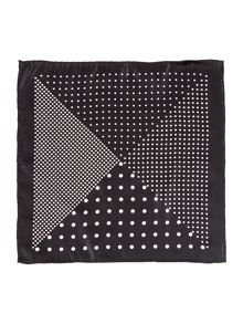 Jordy Printed multi dot pocket square