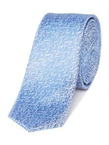 Kenneth Cole Davin Textured jacquard silk tie