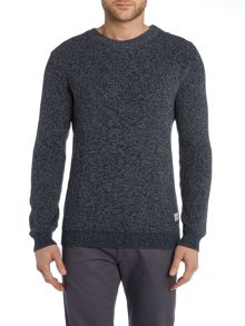 Jack & Jones Acid Wash Crew Neck Knitted Jumper