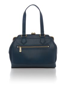 Christie blue shoulder bag
