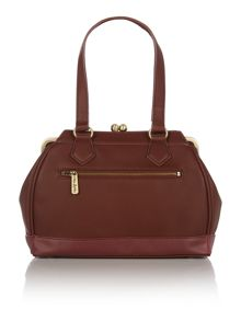 Christie burgundy shoulder bag