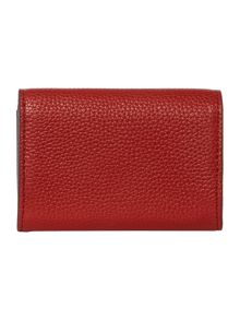 DKNY Chelsea red envelope card case