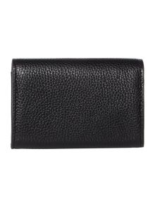 DKNY Chelsea black envelope card case
