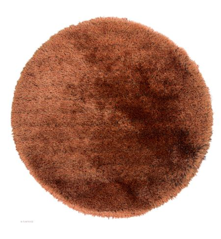 Flair Rugs Pearl Ginger Mix Round Rug 150X150