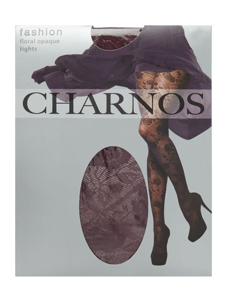Charnos Floral opaque tights