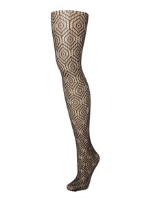 Charnos Geometric patterned tights
