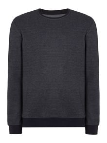 Linea West Textured Crew Neck