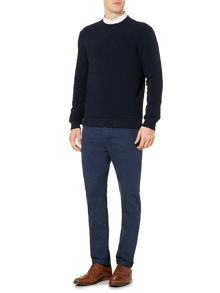 Linea Kennedy Rib Textured Crew Neck Sweat