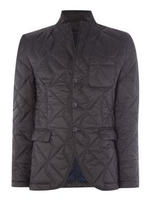 Sisley Men Quilted Casual Blazer