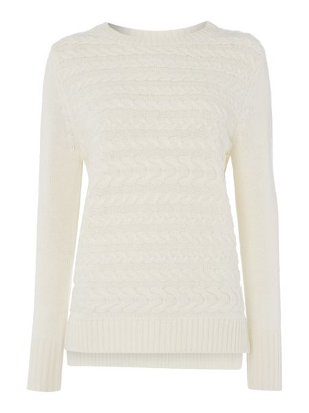 Gray & Willow Cable knit jumper