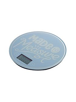 Bake my day electronic blue kitchen scales