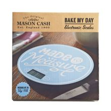 Mason Cash Bake my day electronic blue kitchen scales