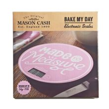 Mason Cash Bake my day electronic pink kitchen scales