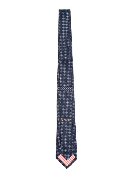 New & Lingwood Rothwell Knitted silk tie