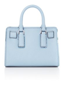Michael Kors Dillon blue small cross body bag