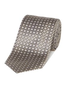 Corsivo Guido Circle Geo Silk Tie
