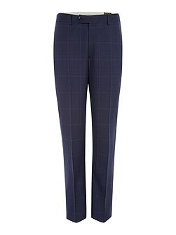Bolva Check Suit Trousers
