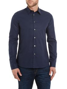 Slim fit collar detail shirt