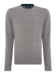 Paul Smith Jeans Crew neck zebra logo jumper