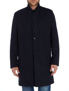 Paul Smith Jeans Wool blend 2 button overcoat