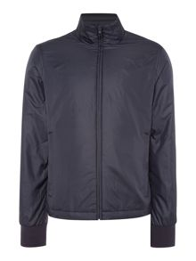 Paul Smith Jeans Funnel neck zip through harrington jacket