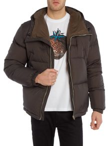 Paul Smith Jeans Down filled padded hooded jacket