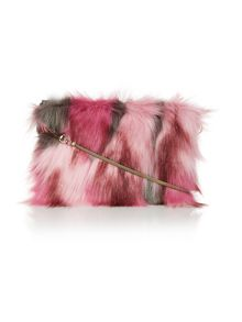 Helen Moore Pink multi small chain crossbody bag