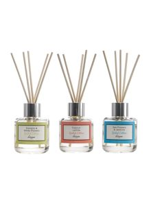 Linea Set of 3 Scented Reed Diffuser Giftset
