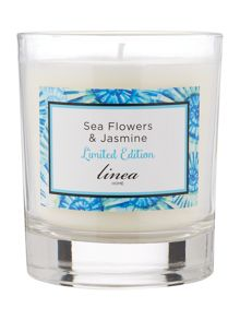 Linea Sea Flowers & Jasmine Scented Candle
