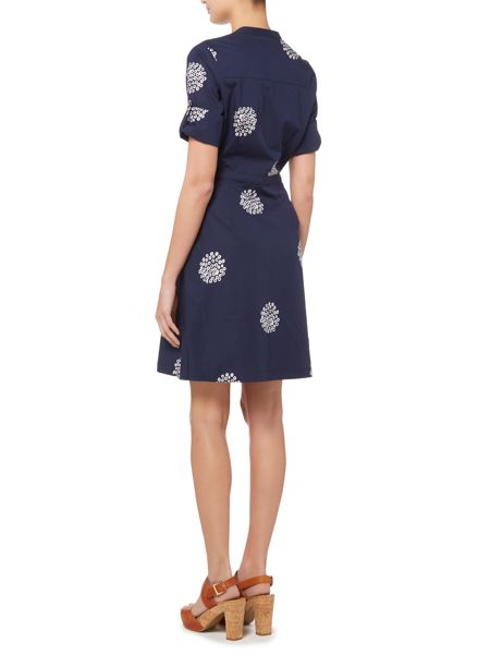 Brakeburn Polka dot shirt dress