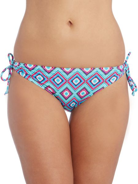 Marie Meili Dandelion side tie bikini brief