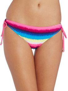 Begonia side tie bikini brief