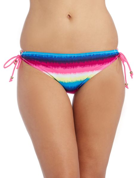 Marie Meili Begonia side tie bikini brief
