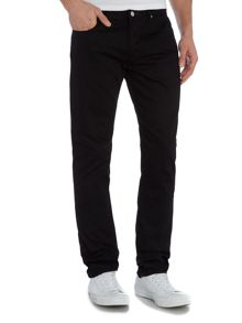 Paul Smith Jeans Tapered leg japanese denim true black jean