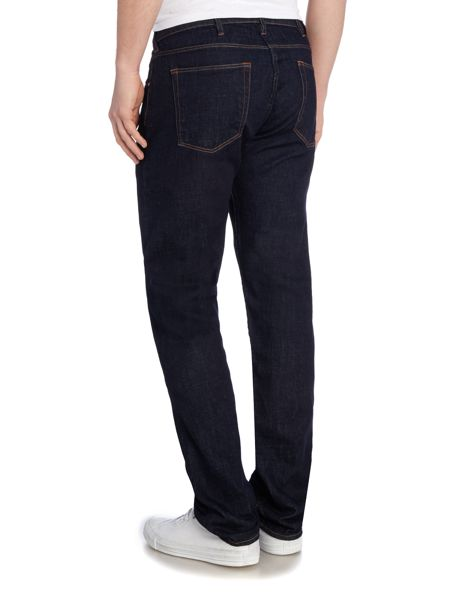 Paul Smith Jeans Tapered leg dark rinse jean