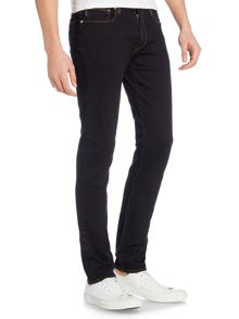 Paul Smith Jeans Slim fit stretch black overdye jean