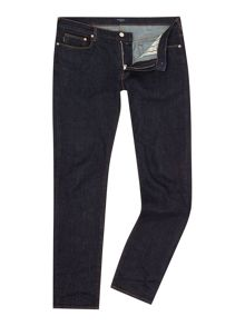 Slim fit stretch dark rinse jean